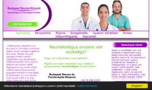 Reumatológiai szakrendelés